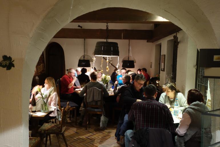Weinprobe in Probierstube
