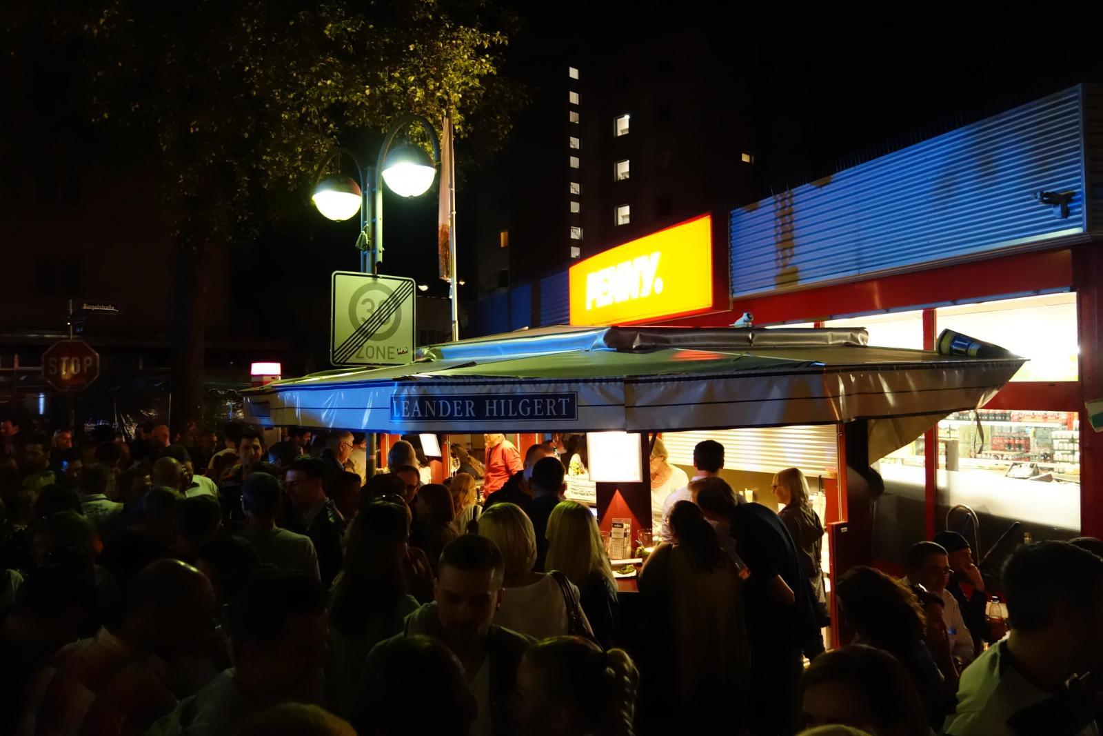 Weinfest Bornheim Abends