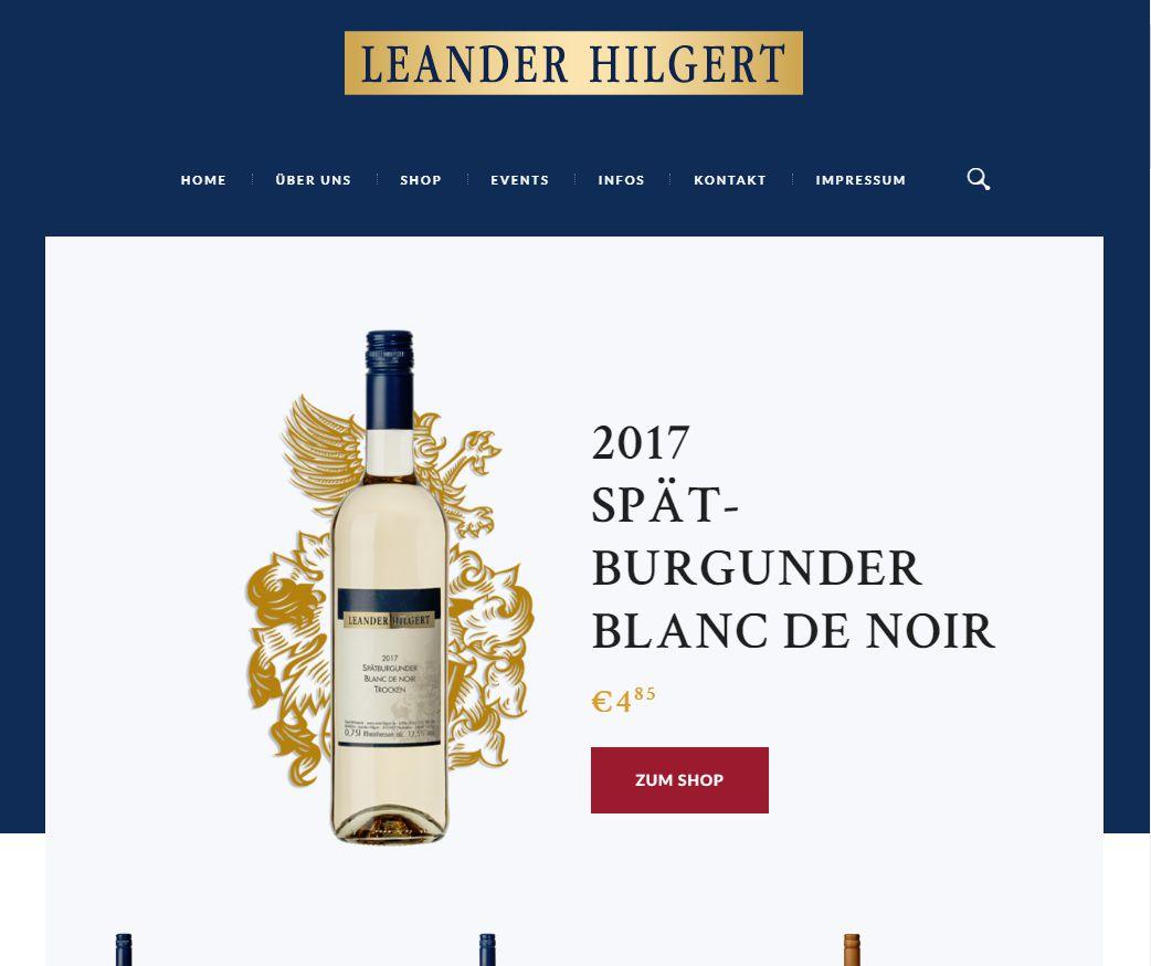 Screenshot Wein-Hilgert.de
